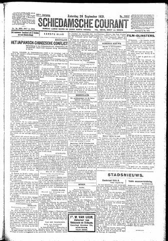 Schiedamsche Courant 1931-09-26