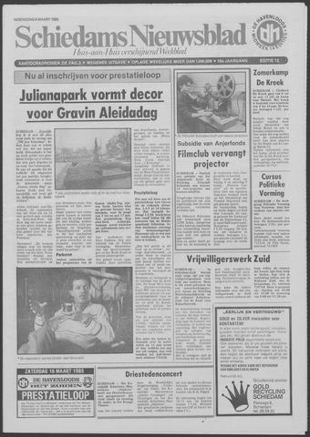Schiedams Nieuwsblad 1985-03-06