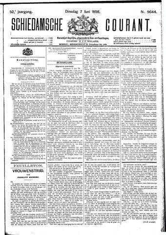 Schiedamsche Courant 1898-06-07