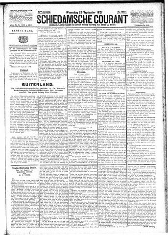 Schiedamsche Courant 1927-09-28
