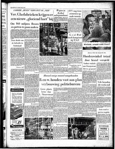 Rotterdamsch Parool / De Schiedammer 1963-01-21