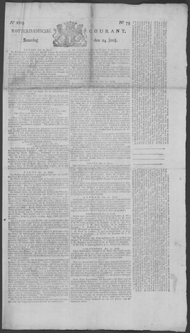 Rotterdamse Courant 1815-06-24
