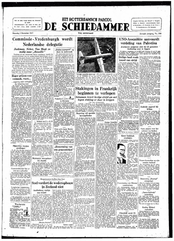 Rotterdamsch Parool / De Schiedammer 1947-12-01