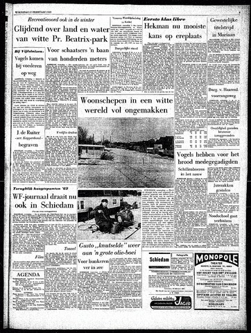 Rotterdamsch Parool / De Schiedammer 1963-02-27