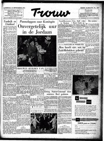 Trouw / De Rotterdammer 1953-09-12