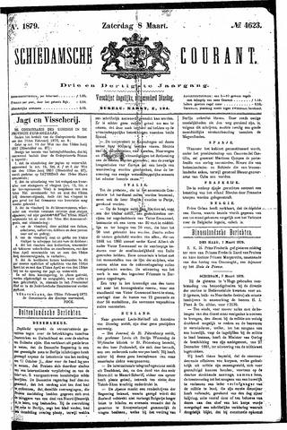 Schiedamsche Courant 1879-03-08