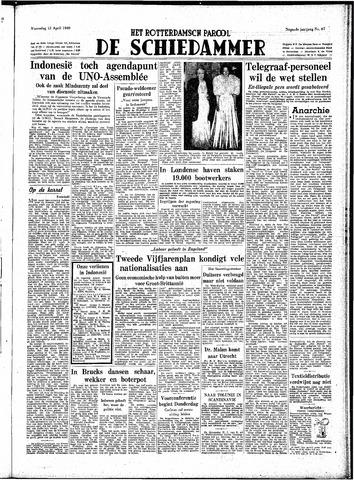Rotterdamsch Parool / De Schiedammer 1949-04-13