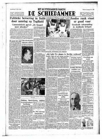 Rotterdamsch Parool / De Schiedammer 1948-07-15