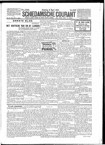Schiedamsche Courant 1933-04-08