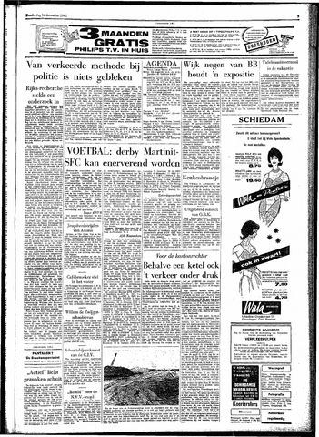 Rotterdamsch Parool / De Schiedammer 1961-12-14