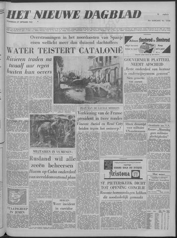 Nieuwe Schiedamsche Courant 1962-09-27