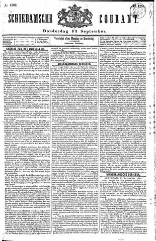 Schiedamsche Courant 1862-09-11