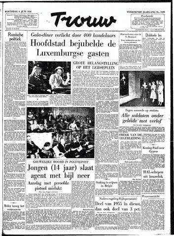 Trouw / De Rotterdammer 1956-06-06