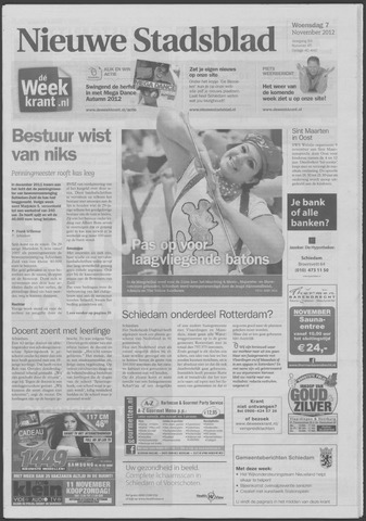 Het Nieuwe Stadsblad 2012-11-07