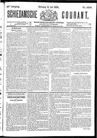 Schiedamsche Courant 1898-07-12