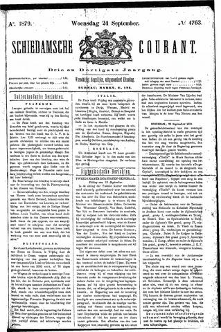 Schiedamsche Courant 1879-09-24