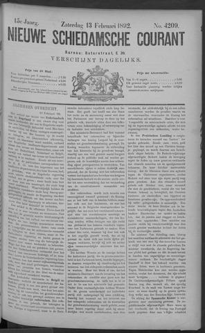 Nieuwe Schiedamsche Courant 1892-02-13