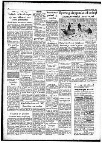 Rotterdamsch Parool / De Schiedammer 1955-03-15