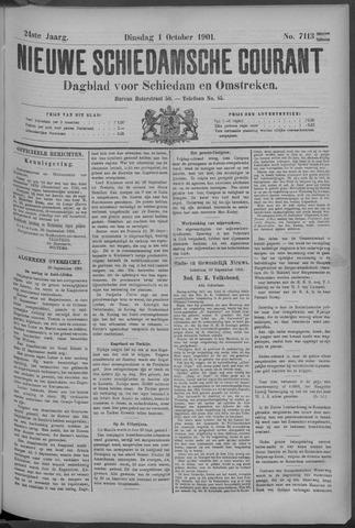 Nieuwe Schiedamsche Courant 1901-10-01
