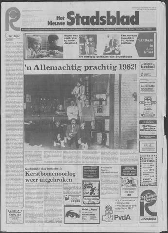 Het Nieuwe Stadsblad 1981-12-30