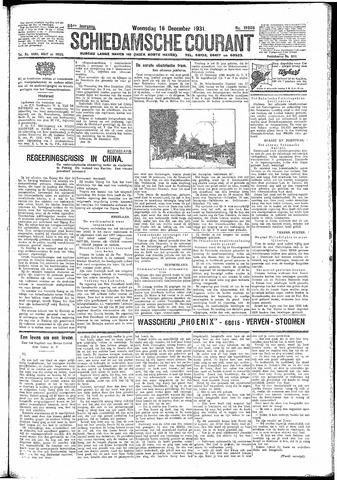 Schiedamsche Courant 1931-12-16