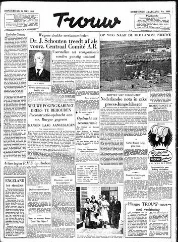 Trouw / De Rotterdammer 1955-05-26
