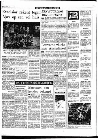 Rotterdamsch Parool / De Schiedammer 1968-08-09