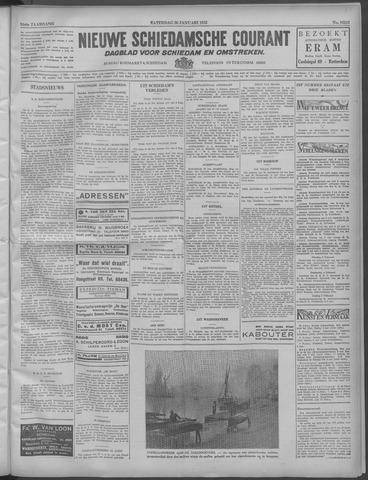 Nieuwe Schiedamsche Courant 1932-01-30