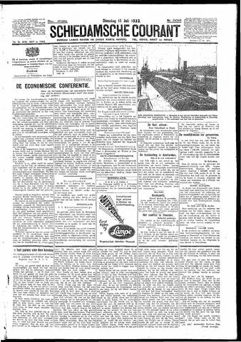 Schiedamsche Courant 1933-07-11