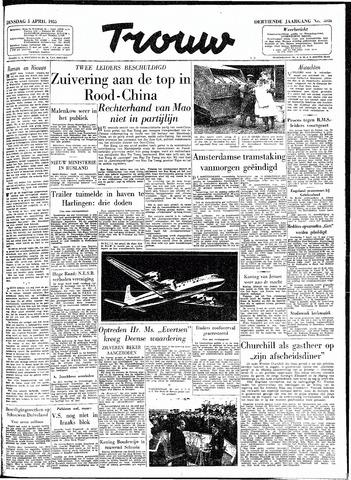 Trouw / De Rotterdammer 1955-04-05
