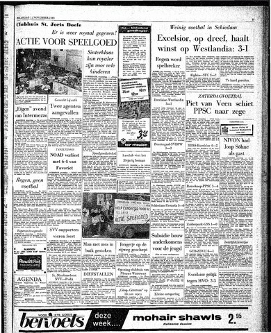 Rotterdamsch Parool / De Schiedammer 1963-11-11