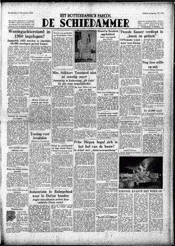 Rotterdamsch Parool / De Schiedammer 1948-11-11