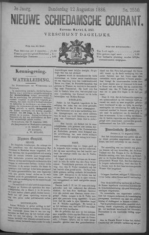Nieuwe Schiedamsche Courant 1886-08-12