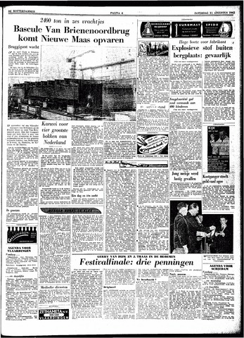 Trouw / De Rotterdammer 1962-08-11