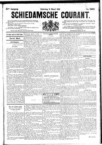 Schiedamsche Courant 1912-03-09