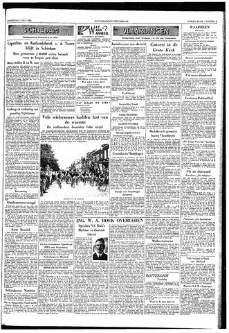 Rotterdamsch Nieuwsblad / Schiedamsche Courant / Rotterdams Dagblad / Waterweg / Algemeen Dagblad 1953-07-01
