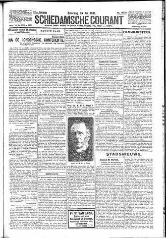 Schiedamsche Courant 1931-07-25