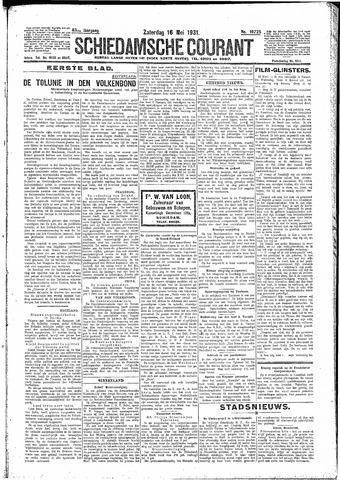 Schiedamsche Courant 1931-05-16