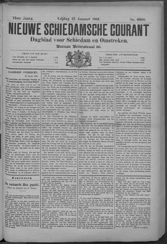 Nieuwe Schiedamsche Courant 1901-01-25