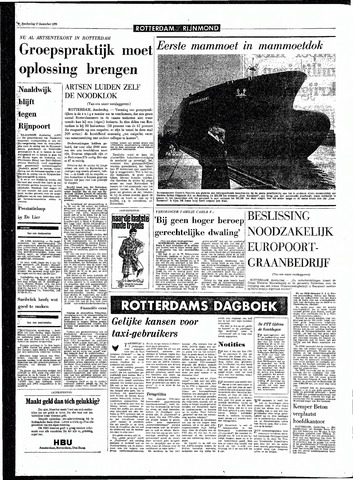 Rotterdamsch Parool / De Schiedammer 1970-12-17