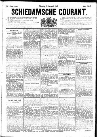 Schiedamsche Courant 1912-01-09