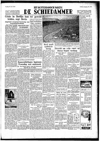 Rotterdamsch Parool / De Schiedammer 1948-07-30