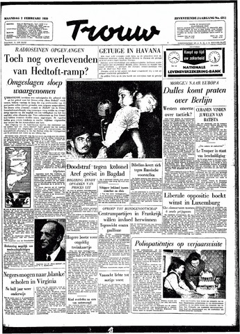 Trouw / De Rotterdammer 1959-02-02
