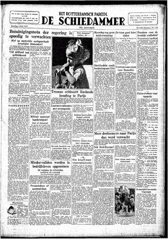 Rotterdamsch Parool / De Schiedammer 1947-07-05