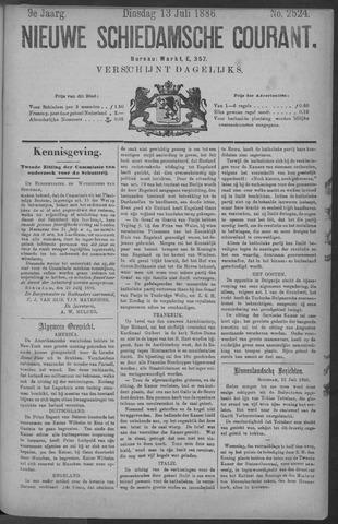 Nieuwe Schiedamsche Courant 1886-07-13