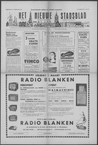 Het Nieuwe Stadsblad 1956-02-29