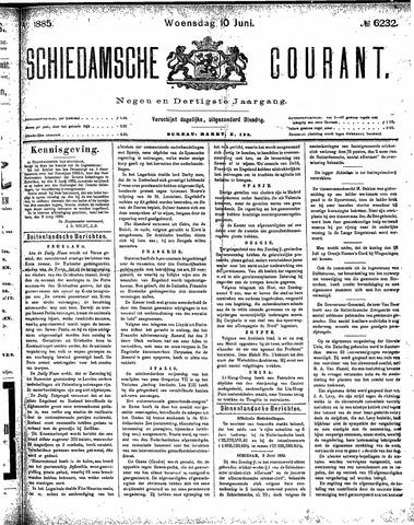 Schiedamsche Courant 1885-06-10