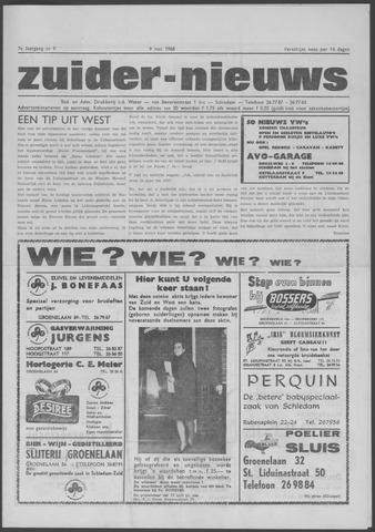 Zuider Nieuws 1968-05-09