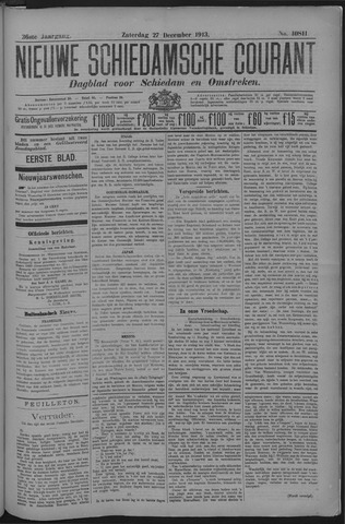 Nieuwe Schiedamsche Courant 1913-12-27