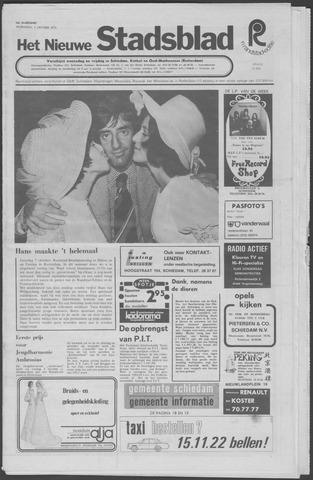 Het Nieuwe Stadsblad 1972-10-11
